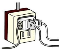 AC電源コンセント・配線