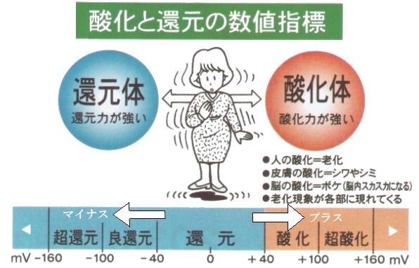 酸化と還元の数値指標.