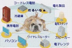 ペットは電磁波に敏感